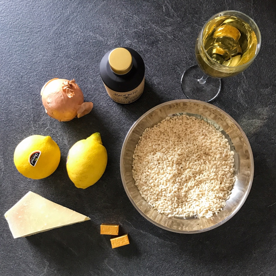 Risotto au citron