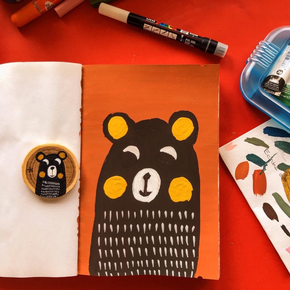 Laisser sécher les couches de peinture