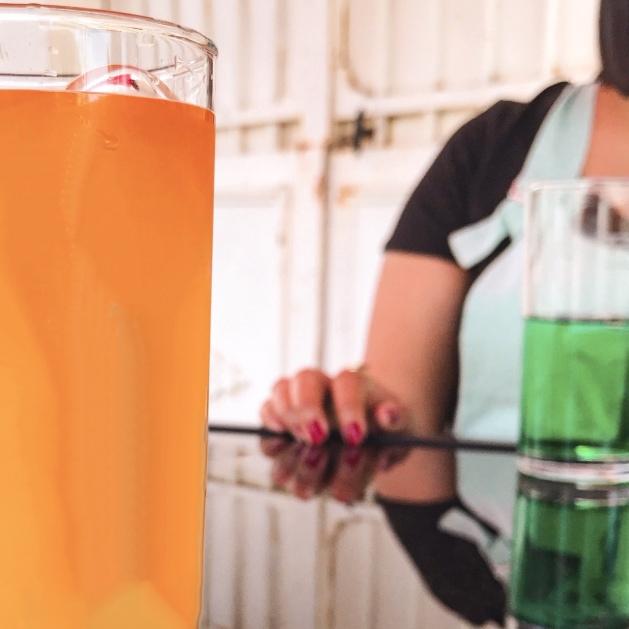 Une limonade en terrasse