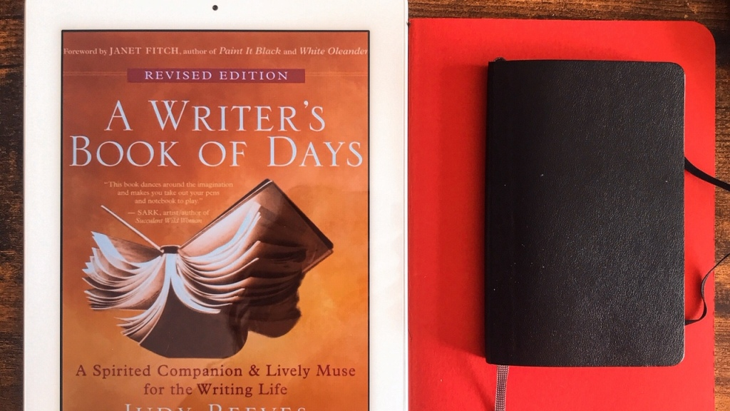A writer's book of days, de Judy Reeves : compagnon de l'écrivain