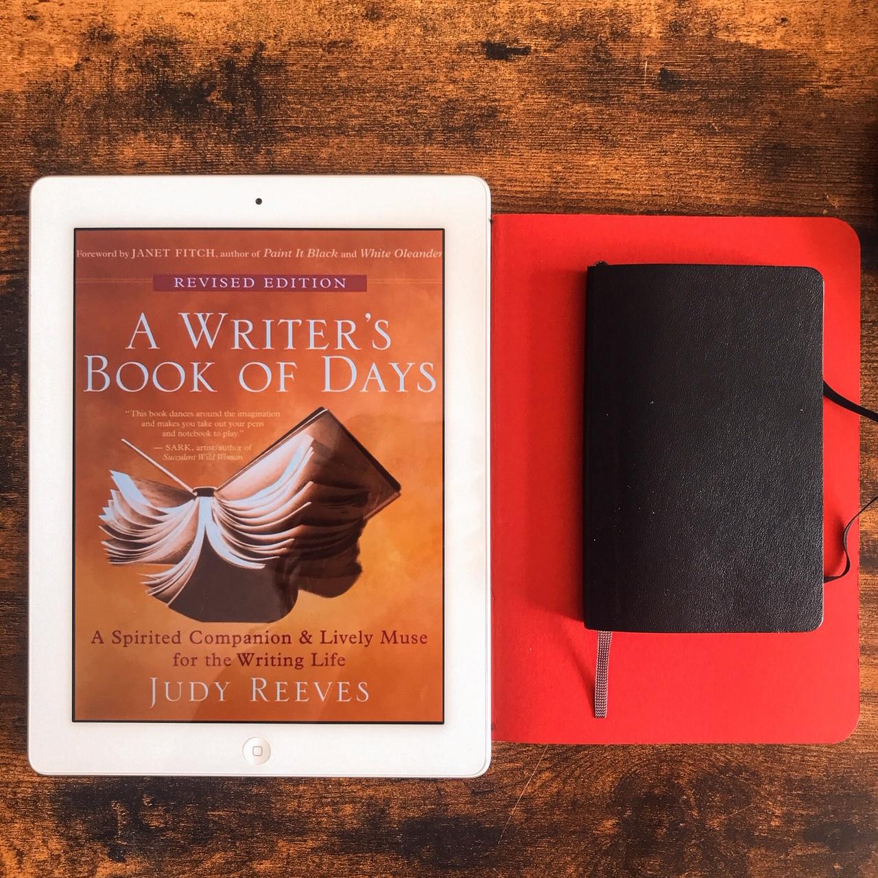 A writer's book of days, de Judy Reeves : compagnon de l'écrivain