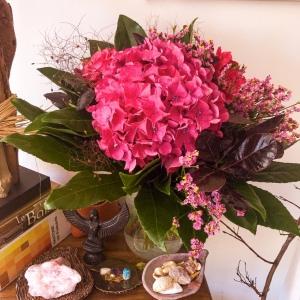 Un bouquet tout rose