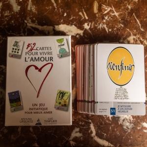 52 cartes pour vivre l'amour, d'Arouna Lipschitz et Luc Templier