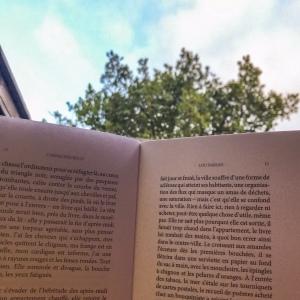Lire sur la terrasse