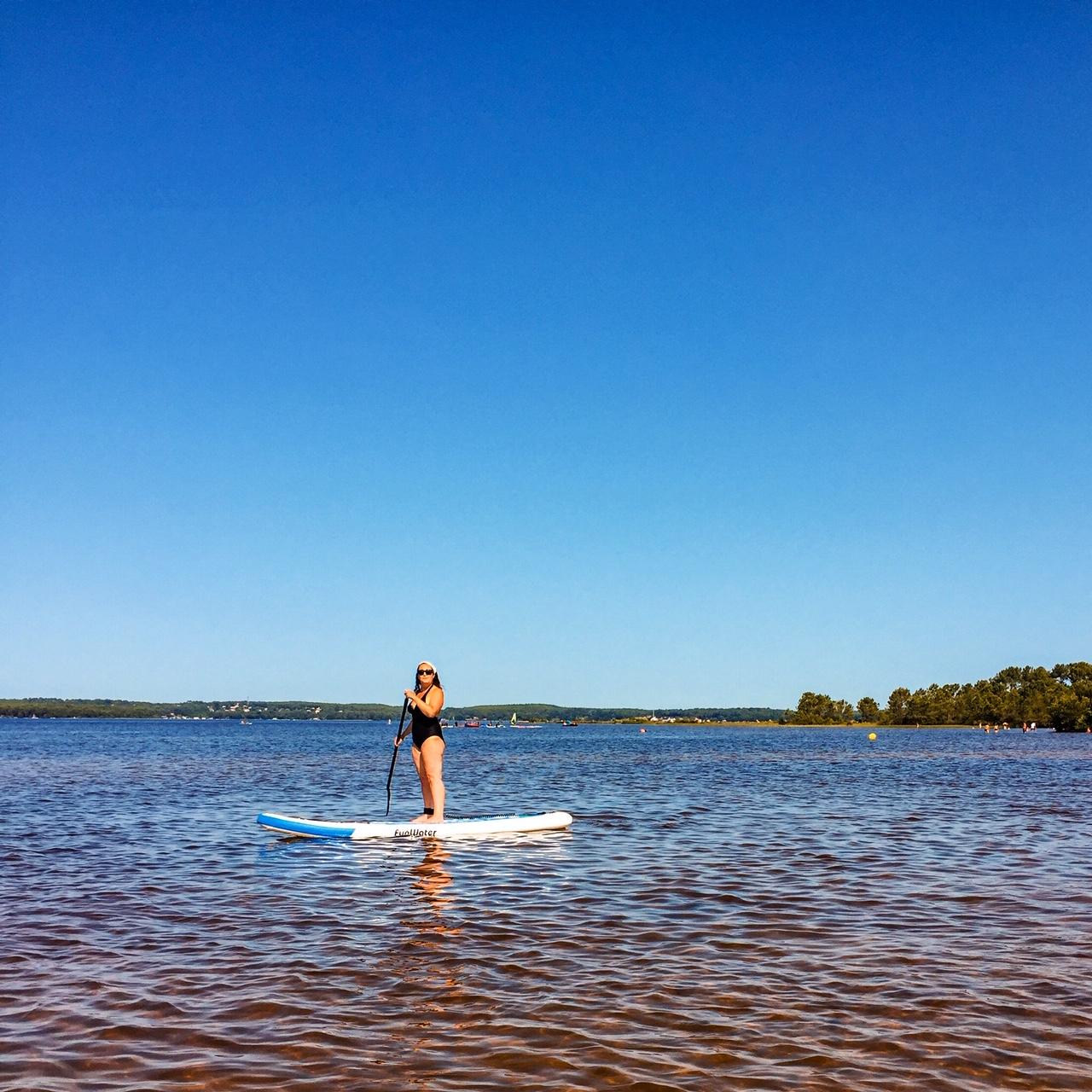 Paddle sur le lac