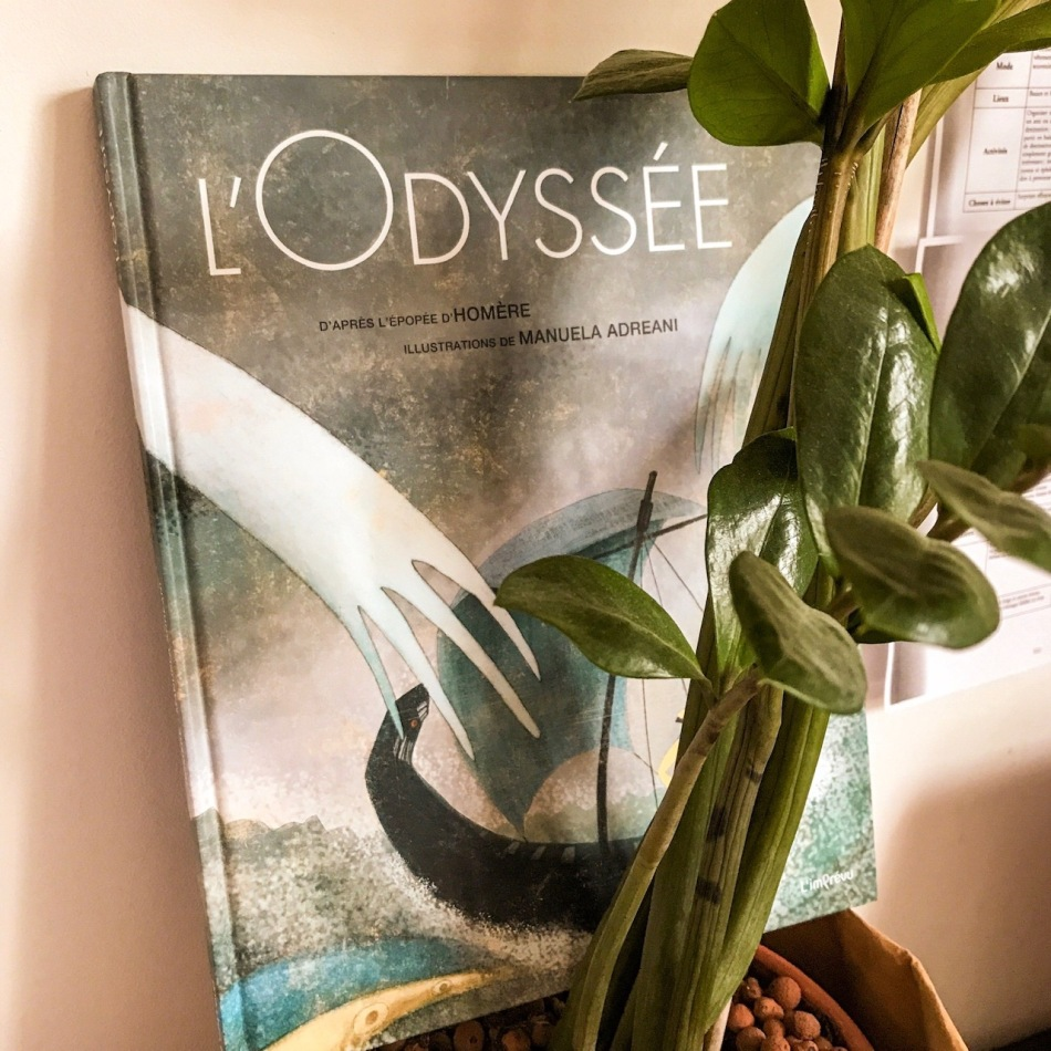 L'Odyssée, d'après Homère et illustré par Manuela Adreani : voyage extraordinaire