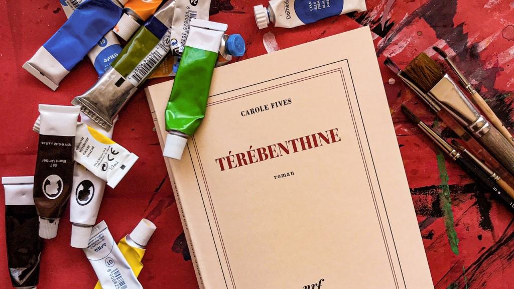 Térébenthine, de Carole Fives : croire encore en la peinture