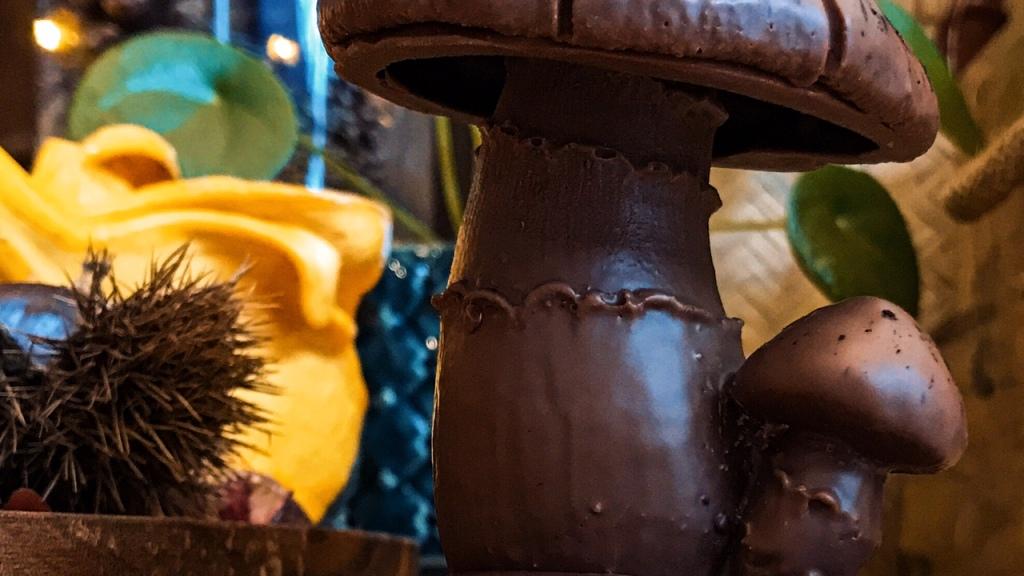 Champignon mignon en chocolat