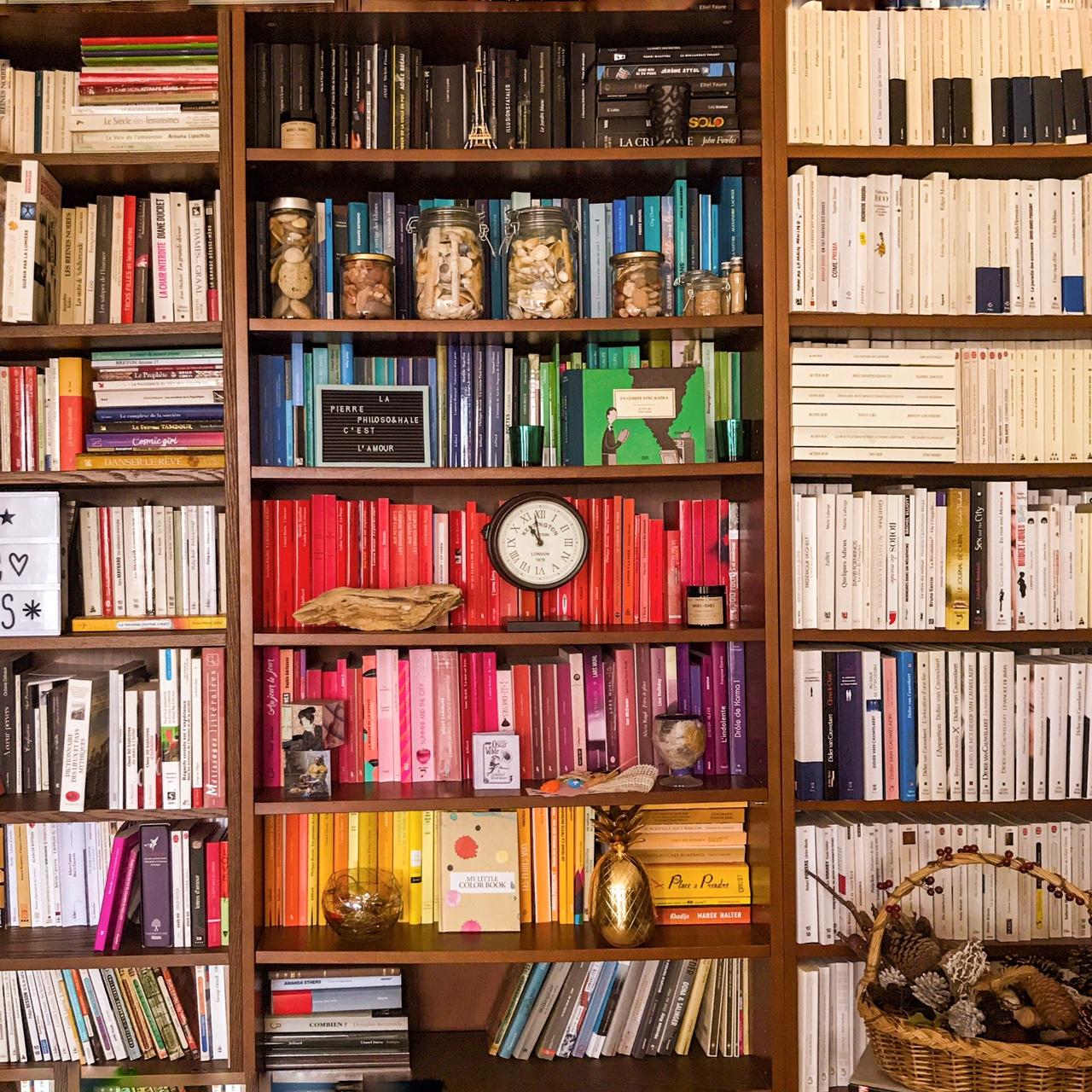 Bibliothèque arc-en-ciel