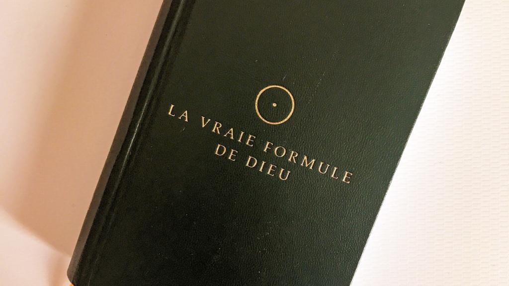 La vraie formule de Dieu, de Lars Muhl : la loi de la lumière