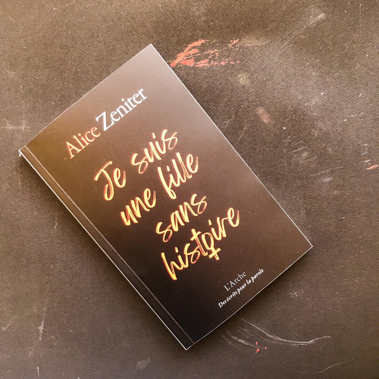 Je suis une fille sans histoire, d'Alice Zeniter : des mecs qui font des trucs