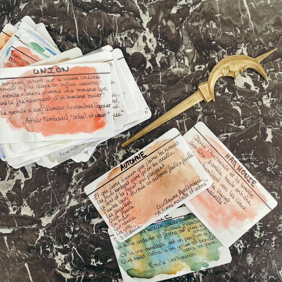 Instantané : l'oracle des poètes