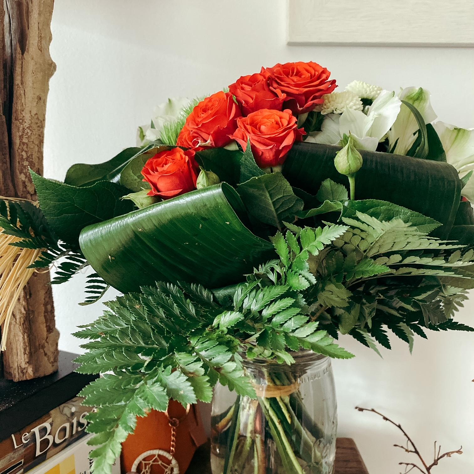 Voici les fleurs...