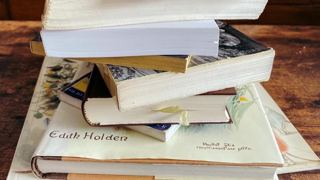 Les livres de ma vie...