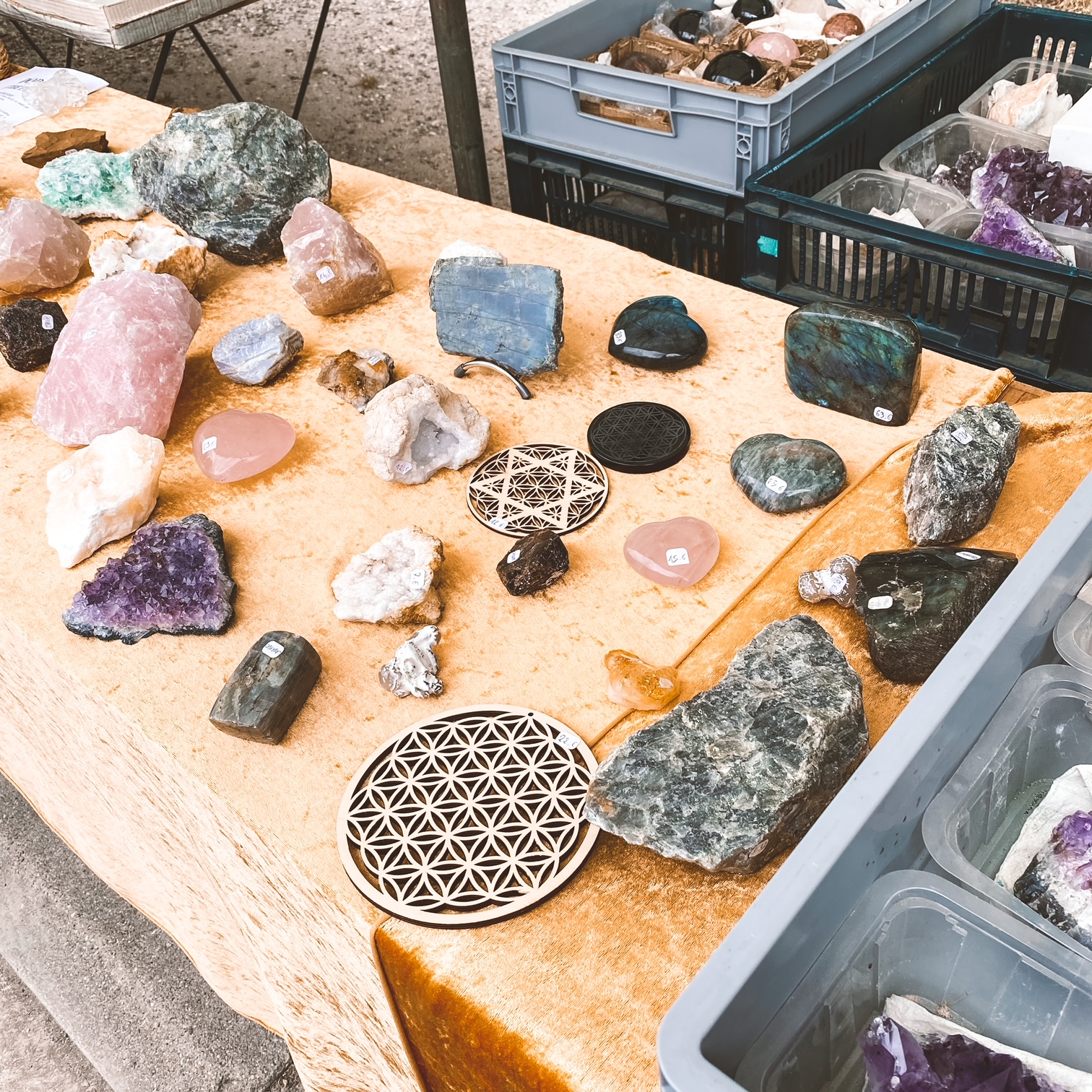 Fournisseur officiel de cristaux
