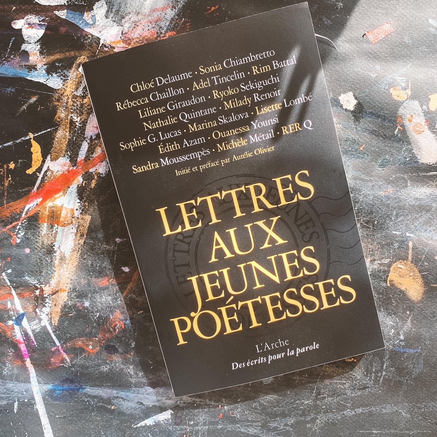 Lettres aux jeunes poétesses : femmes et écriture
