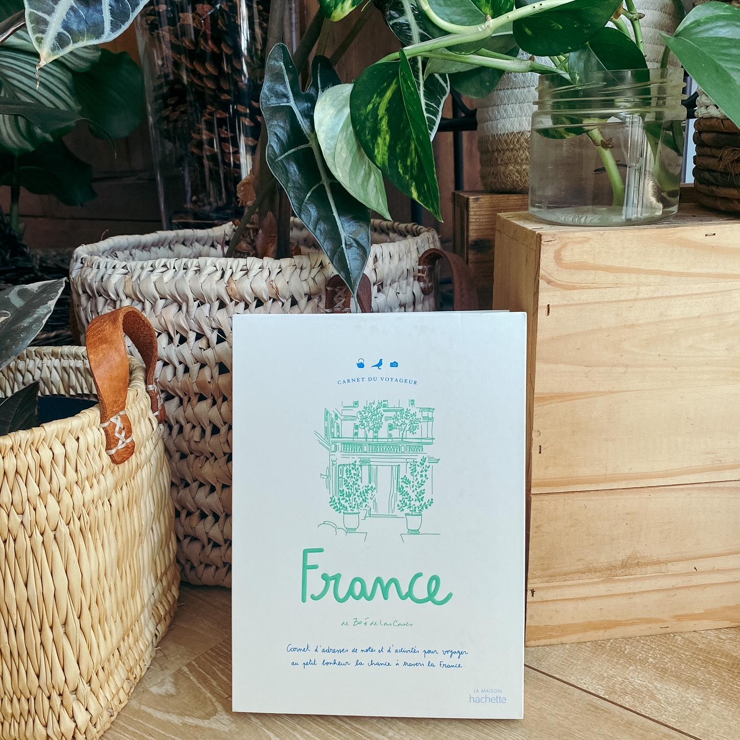 France, de Zoé de las Cases : carnet de voyageur